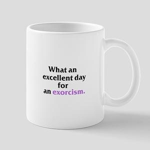 Excellent Exorcism Mug - Black Text Mugs
