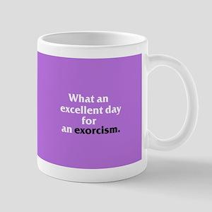 Excellent Exorcism Mug - Poster Background Mugs