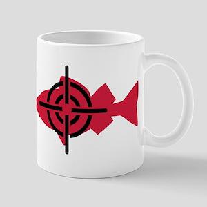 Fishing hunter crosshairs Mug