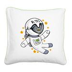 Uniphant Square Canvas Pillow