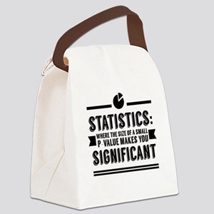 Stats P-Value Canvas Lunch Bag