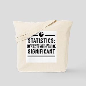 Stats P-Value Tote Bag