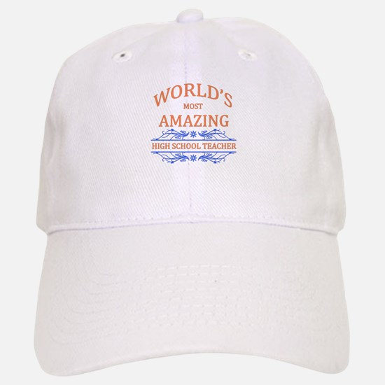 High School Teacher Baseball Baseball Cap