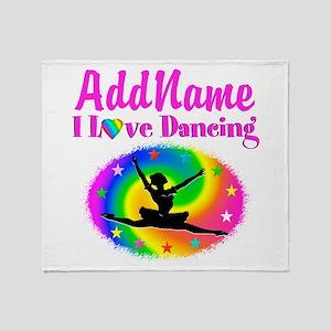 DAZZLING DANCER Throw Blanket