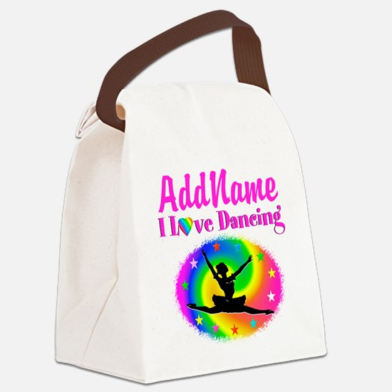 DAZZLING DANCER Canvas Lunch Bag
