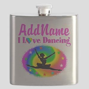 DAZZLING DANCER Flask