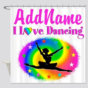 DAZZLING DANCER Shower Curtain