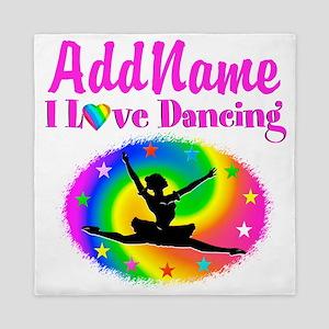 DAZZLING DANCER Queen Duvet