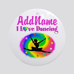 DAZZLING DANCER Ornament (Round)