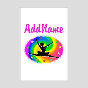 DANCING PRINCESS Mini Poster Print