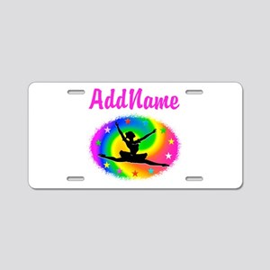 DANCING PRINCESS Aluminum License Plate