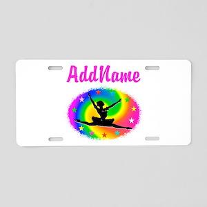 DANCING PRINCESS Aluminum License Plate