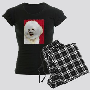 Bichon Frise Women's Dark Pajamas