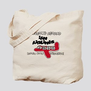 Ian Airlines Tote Bag