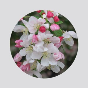 Cherry Blooms Ornament (Round)