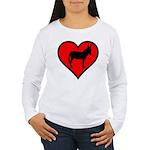 Donkey Love Long Sleeve T-Shirt