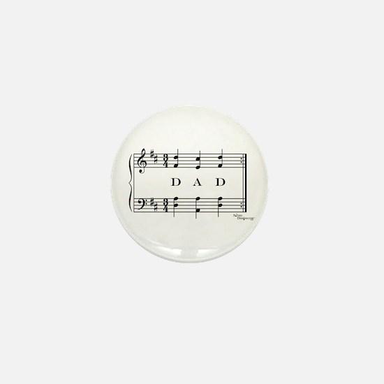dad (piano) Mini Button