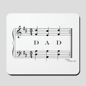 dad (piano) Mousepad