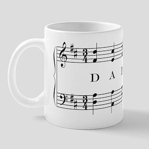 dad (piano) Mug