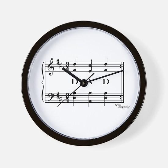 dad (piano) Wall Clock