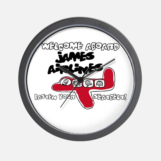 James Airlines Wall Clock