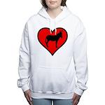 Donkey Love Women's Hooded Sweatshirt