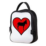 Donkey Love Neoprene Lunch Bag