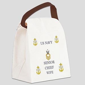 Senior wife Canvas Lunch Bag