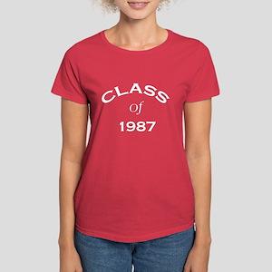 """""""Class of 1987""""  Women's Dark T-Shirt"""