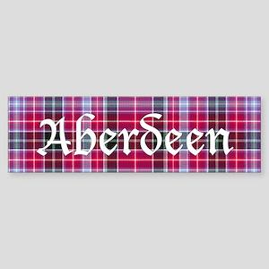 Tartan - Aberdeen dist. Sticker (Bumper)