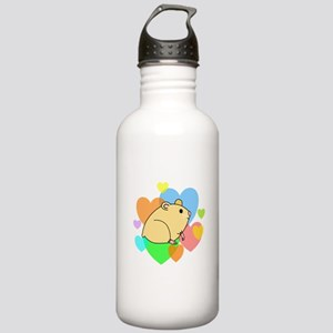 Hamster Hearts Stainless Water Bottle 1.0L