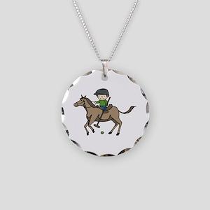 Horse Polo Necklace