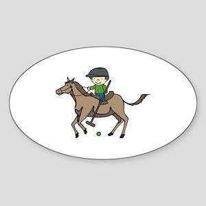 Horse Polo Sticker