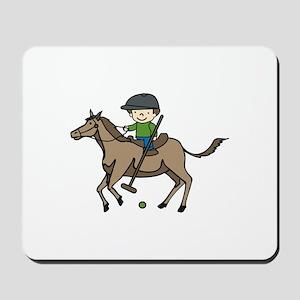 Horse Polo Mousepad
