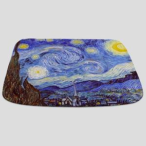 The Starry Night Vincent Van Gogh Bathmat