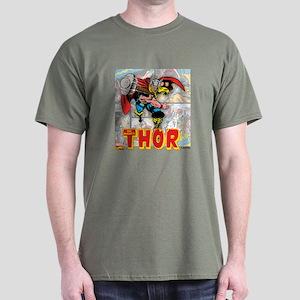 Thor Panels Dark T-Shirt