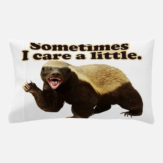 Cute Honey badger Pillow Case