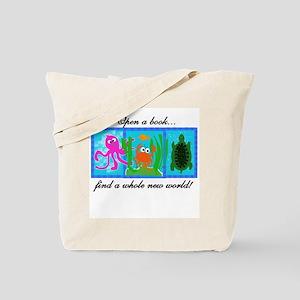 Reading Adventures Tote Bag