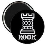 Black Rook Magnet