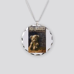 Holocaust Remembrance Day Necklace Circle Charm
