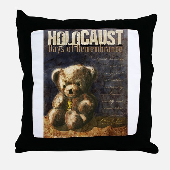Holocaust Remembrance Day Throw Pillow