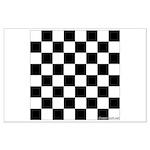 Fridge Chess (TM) Chess Board Poster