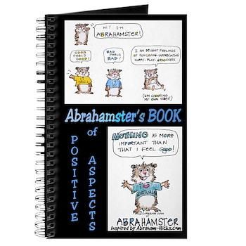 "Abrahamster Blank Journal Positive Aspects 8x5"""