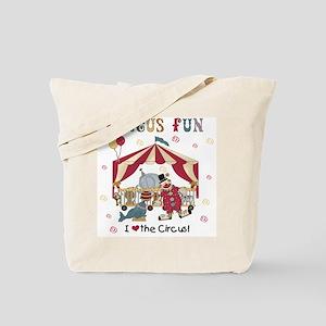 Circus Fun Tote Bag