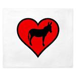 Donkey Love King Duvet