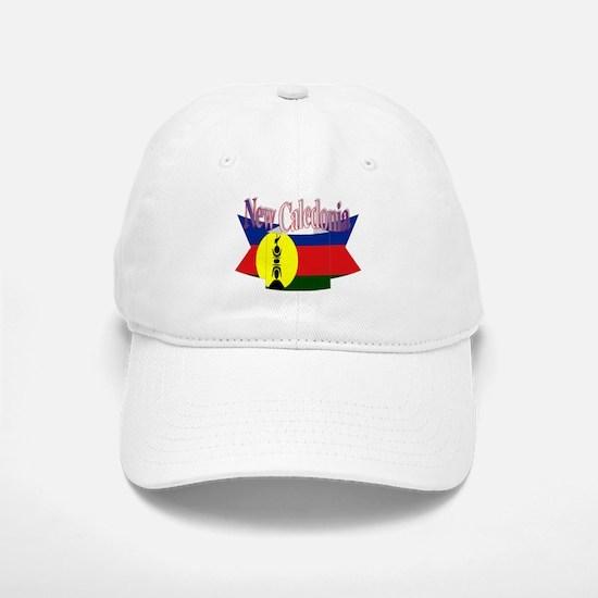 New Caledonian flag ribbon Baseball Baseball Cap