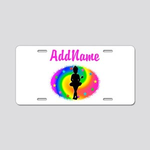 LOVE BALLET Aluminum License Plate
