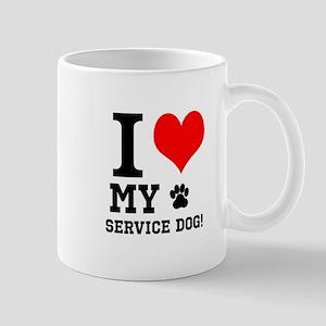 I LOVE MY SERVICE DOG! Mugs