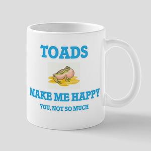 Toads Make Me Happy Mugs