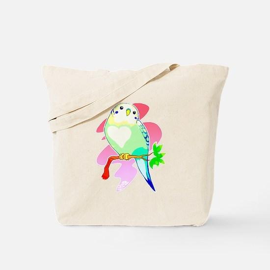 Cute Budgerigar Tote Bag